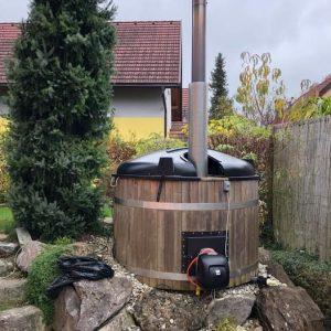 Hot Pot mit Brenner drauf